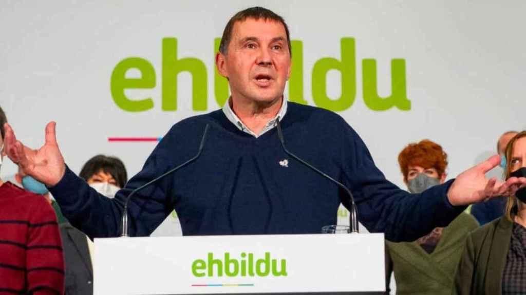 El coordinador general de EH Bildu, Arnaldo Otegi. Efe