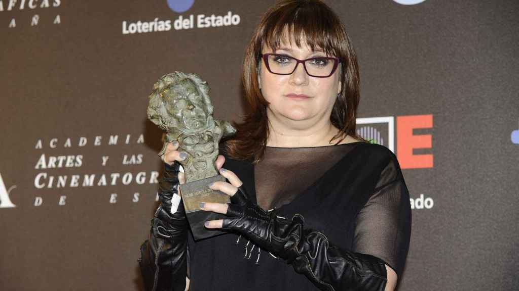Isabel Coixet con el Goya en 2012.