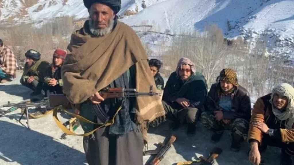 Milicianos talibán en una imagen de archivo.