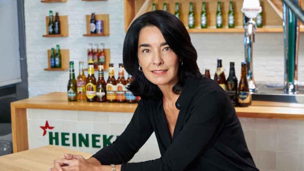 La directora de Relaciones Institucionales de Heineken España, Carmen Ponce.