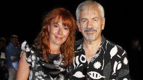 Carlos Sobera junto a su mujer, Patricia Santamarina, en una imagen de archivo.