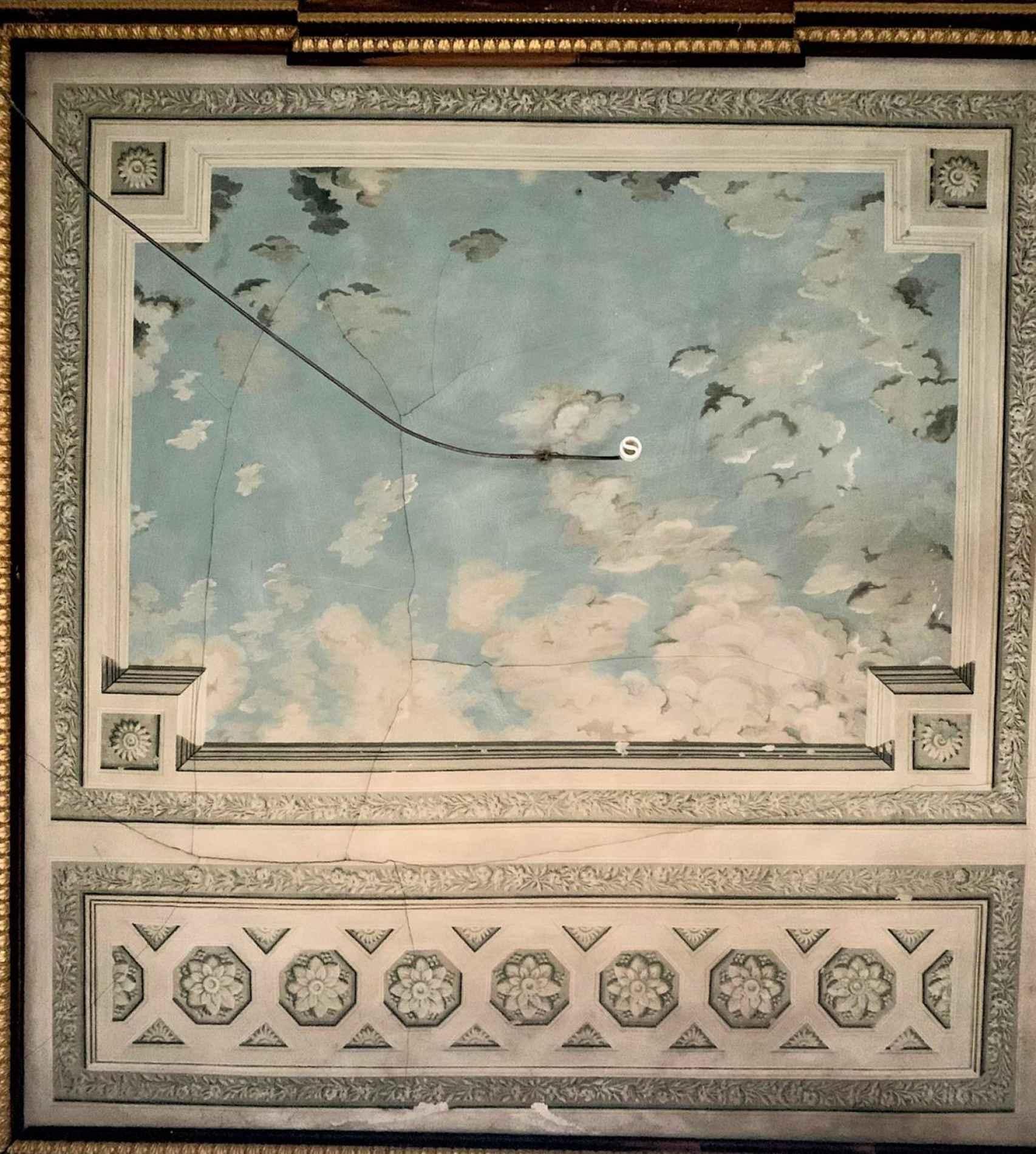 Imagen del cielo del Palacio del Infante Don Luis.