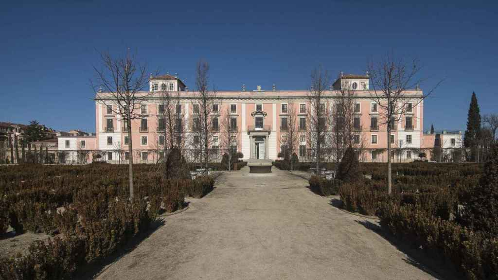 Fachada jardín del Palacio de Boadilla.