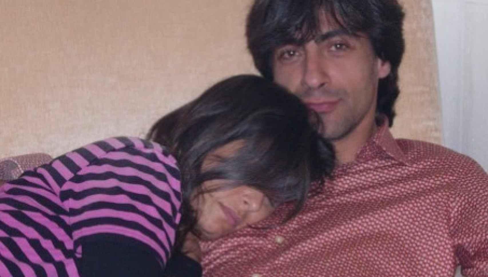 Juan del Val compartió esta tierna fotografía junto a Nuria Roca en su juventud.
