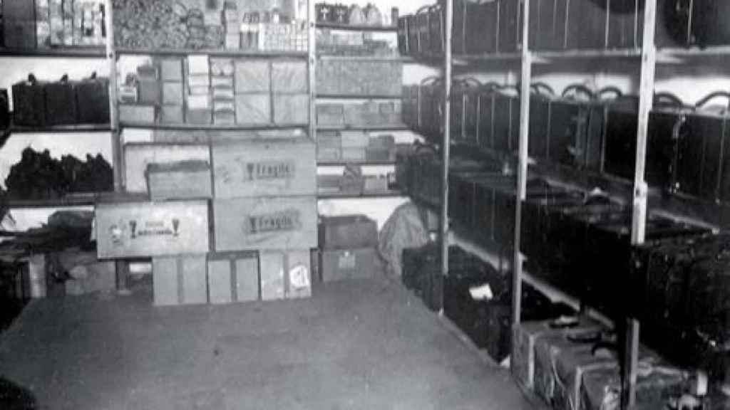 Almacén del primer laboratorio Sánchez Electrical Laboratory (1912)