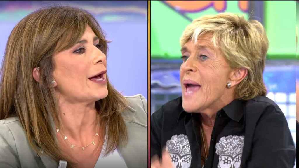 """El dardo de Gema López a Chelo en 'Sálvame': """"Haz lo que hago yo y no te disfrazarán"""""""