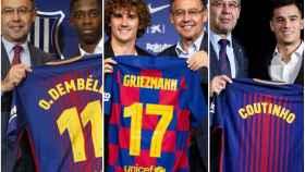 El Barça y los fichajes de Dembélé, Griezmann y Coutinho