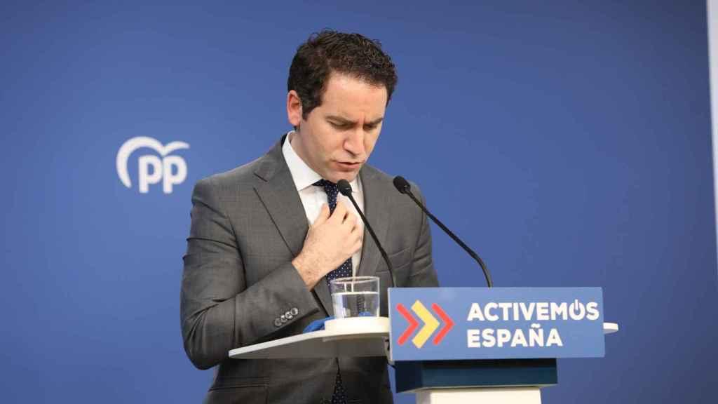 Teodoro García Egea, secretario general del PP.