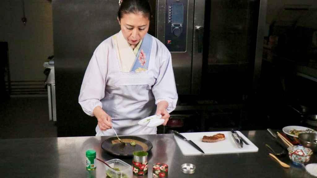 Yoko Hasei, la chef japonesa de LeClub.