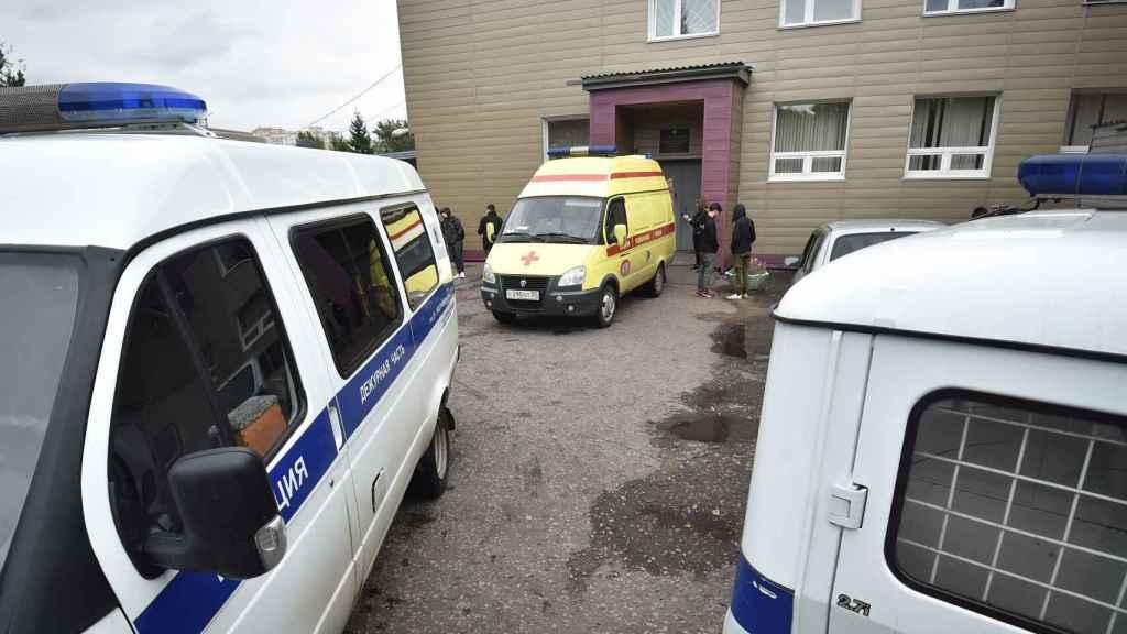 Hospital de Omsk, en Siberia, que atendió a Alexéi Navalny tras el envenenamiento.
