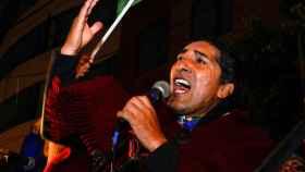 Yaku Pérez, candidato a presidente de Ecuador, es de origen indígena.