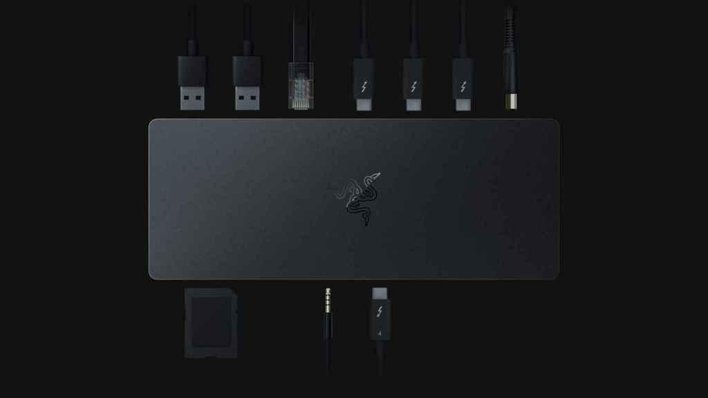 El nuevo dock de Razer ofrece muchas conexiones