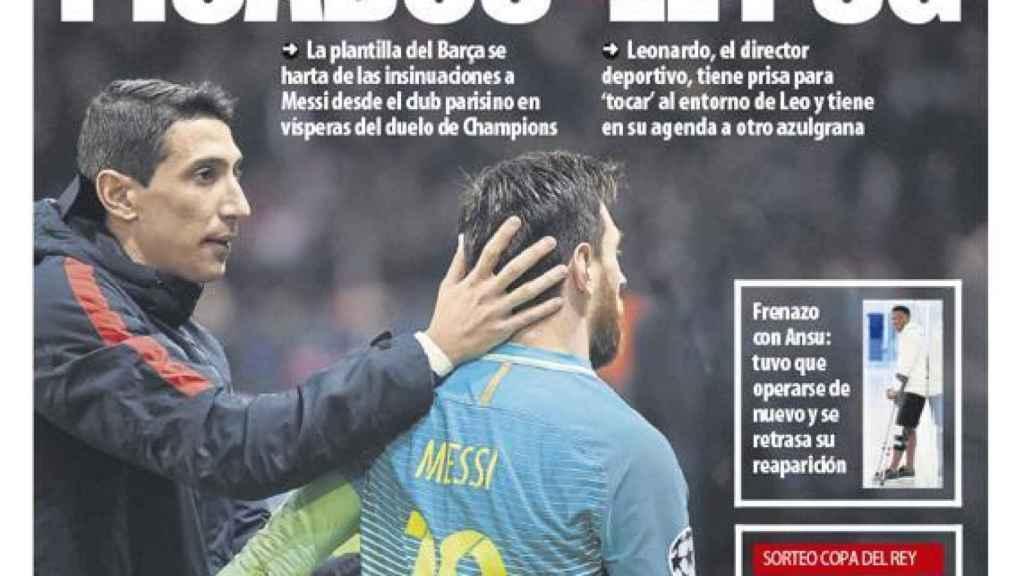 La portada del diario Mundo Deportivo (06/02/2021)