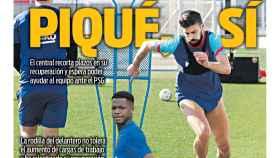 La portada del diario SPORT (06/02/2021)