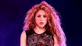 Shakira, en uno de sus conciertos.