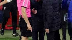 Bordalás ataca a Lopetegui tras su encontronazo: Le he leído en los labios algo muy grave