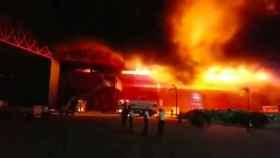 Incendio en el circuito de MotoGP de Termas de Río Hondo
