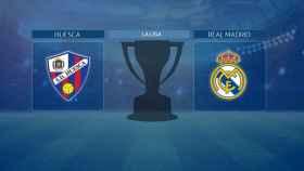 Streaming en directo | SD Huesca - Real Madrid (La Liga)