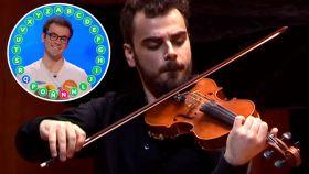 """Pablo Díaz, el violinista de 24 años que lleva 157 roscos invicto: """"Pasapalabra es como una oposición"""""""