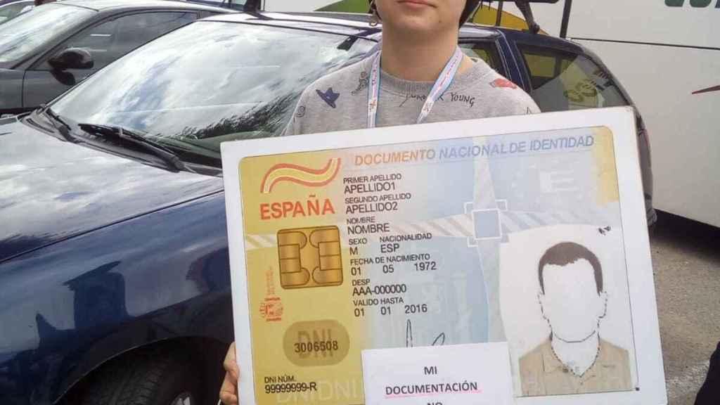 Gabriel Delgado, de 17 años.