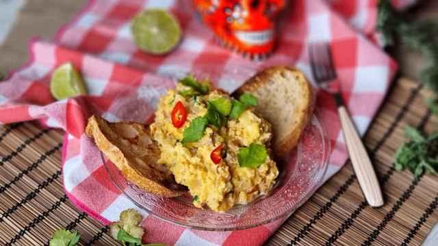 Huevos a la mexicana, el revuelto perfecto para el desayuno