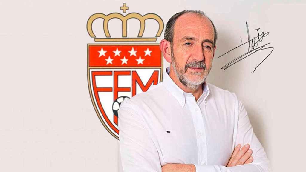 Paco Díez, presidente de la RFFM entre 2016 y 2020