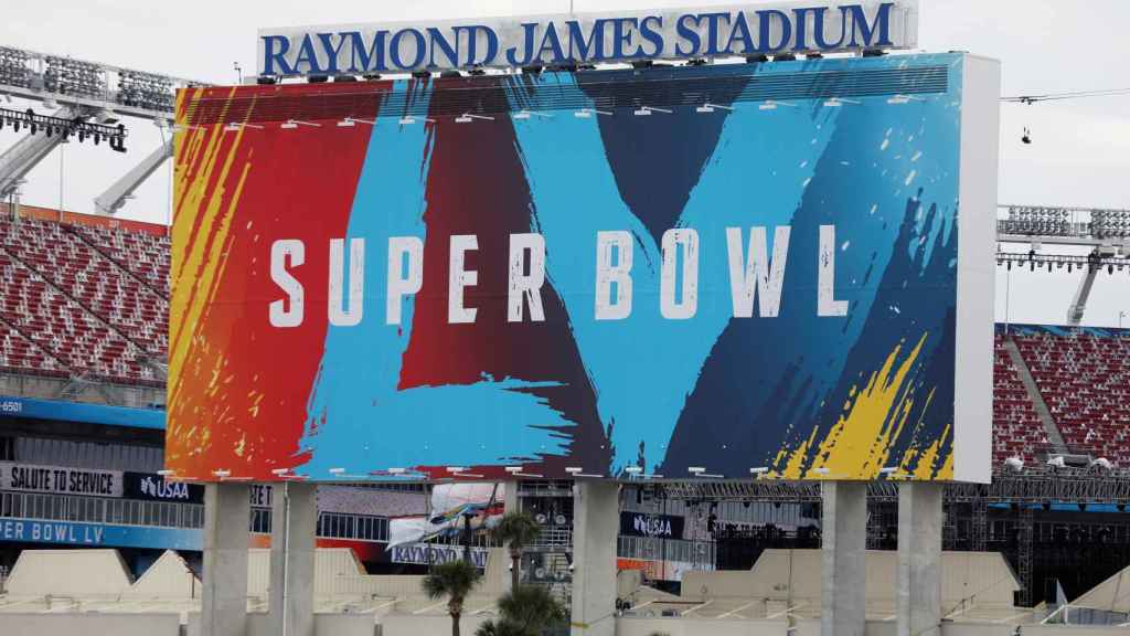 El Raymond James Stadium de Tampa, sede de la Super Bowl LV
