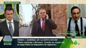 Pedro J. Ramírez, durante su intervención en el programa 'laSexta Noche'.