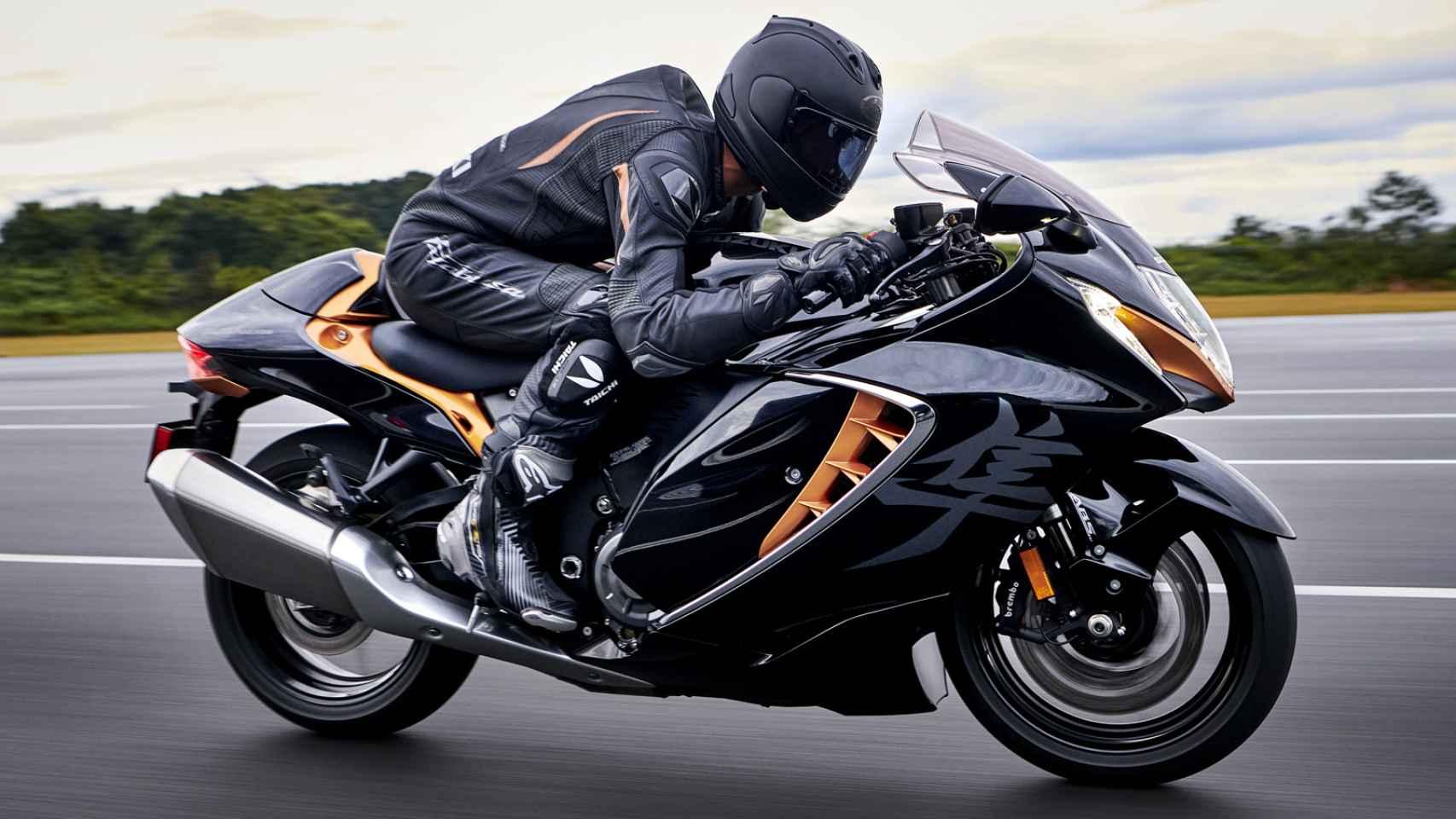 Vuelve la Suzuki Hayabusa, la moto de los 300 km/h de velocidad máxima