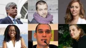 Seis de los responsables de estos organismos del gobierno