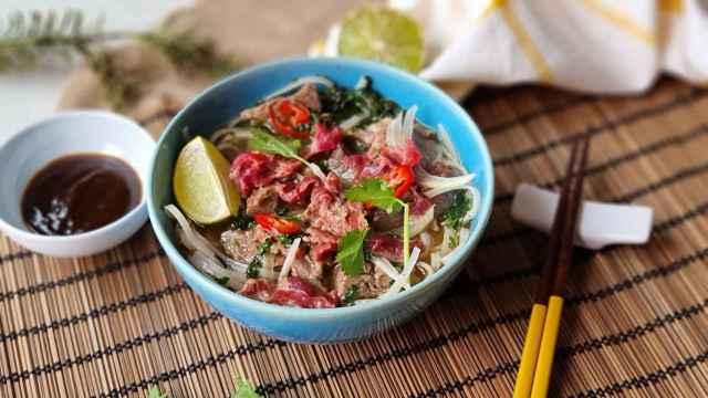 Pho Bo, sopa de ternera vietnamita