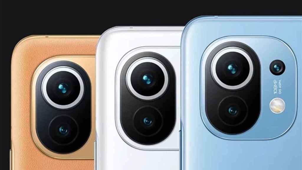 Módulo de cámara del Xiaomi Mi 1 1.