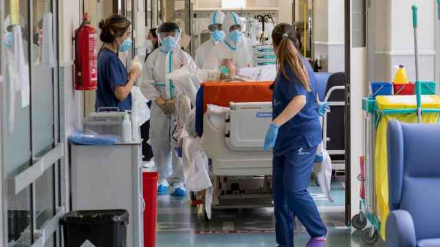 Hospital Santa Lucía de Cartagena. EFE/Marcial Guillén.