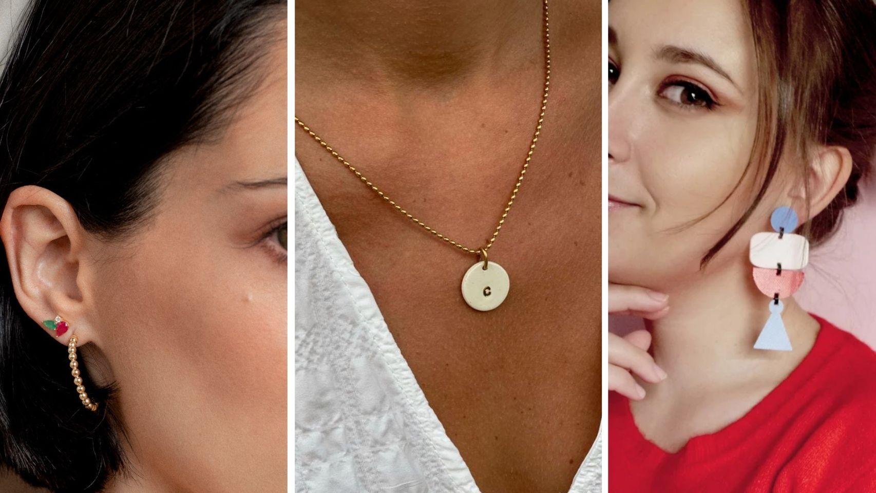 Descubre estas firmas de joyas 'made in Spain' con diseños originales, vistosos y únicos.