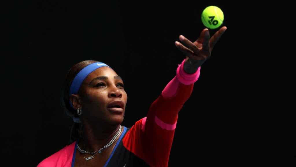 Serena Williams, durante el Open de Australia 2021