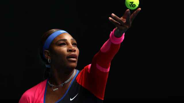 Serena Williams, durante el Open de Australia 2021