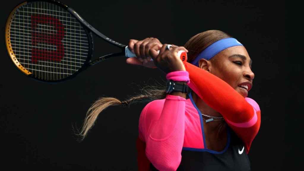 Serena Williams, en el Open de Australia 2021
