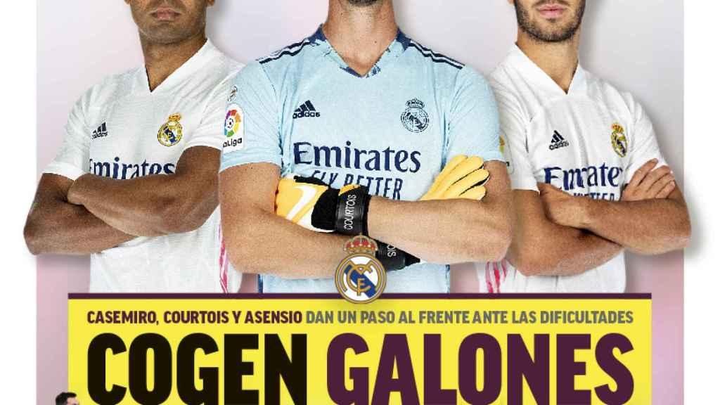 La portada del diario MARCA (08/02/2021)