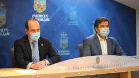Alberto Rojo y Rafael Pérez Borda, este lunes en rueda de prensa