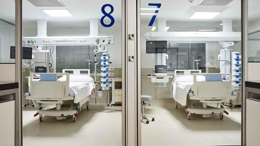 La nueva UCI del Hospital HM Delfos.