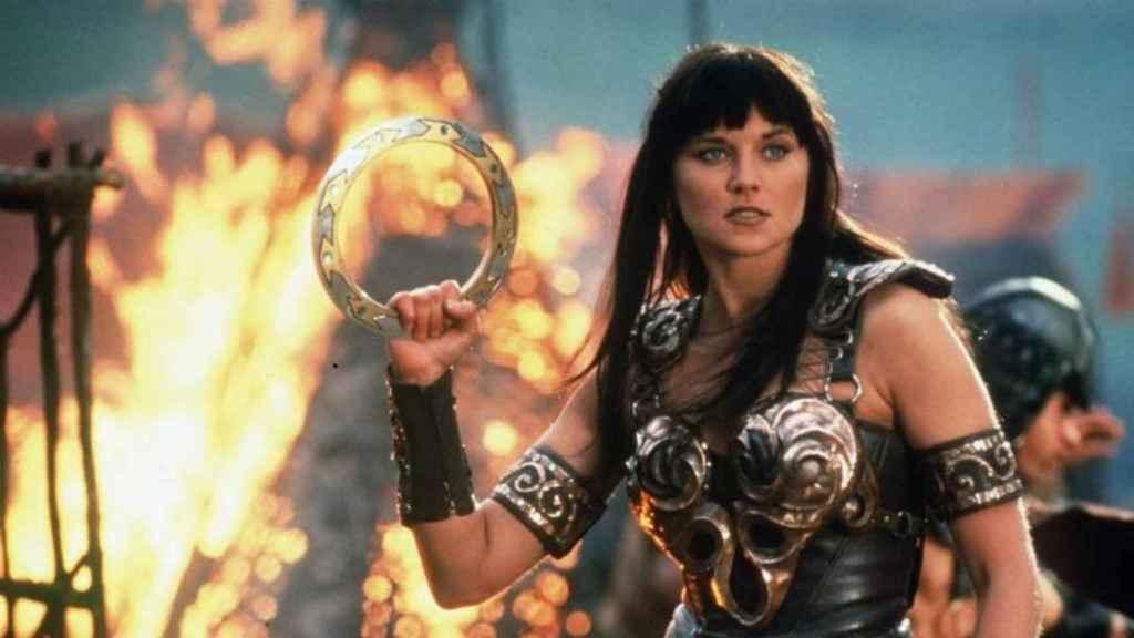 Fotograma de Xena, la princesa guerrera.