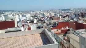Imagen del sur de la ciudad de Tánger.