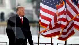 Donald Trump el pasado 6 de enero en Washington.