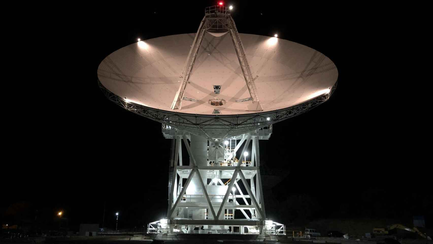 Nueva antena de la NASA en Robledo de Chavela