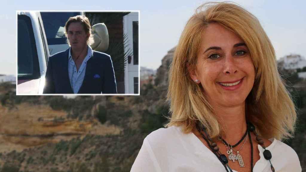 Carmen Janeiro junto a su pareja Luis Masaveu en montaje de JALEOS.