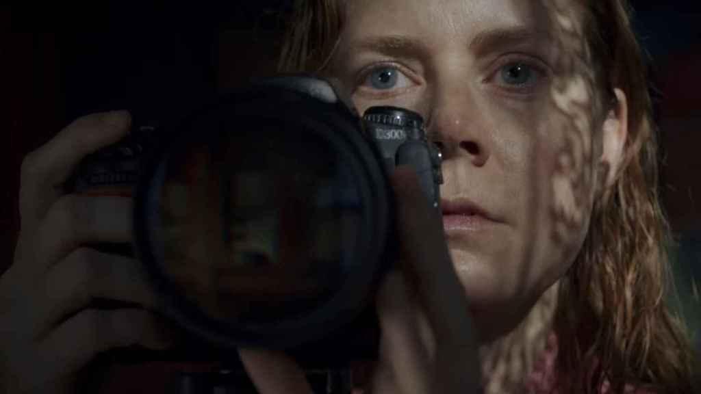 'La mujer en la ventana'.