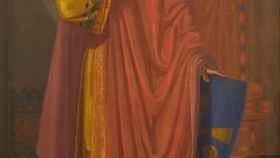 Alfonso II el Casto retratado por Mariano de la Roca y delgado.