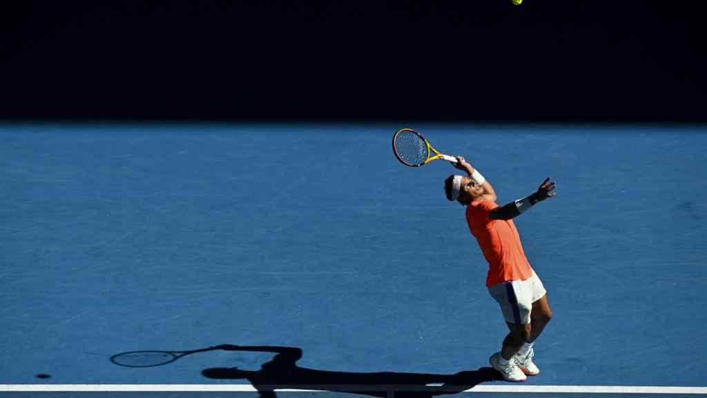 Rafa Nadal, en el Open de Australia