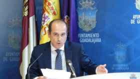 Alberto Rojo, alcalde de Guadalajara, en una imagen de archivo