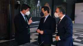 Marín, Moreno y Bendodo en el Consejo de Gobierno